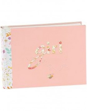 baby photo album GIRL 22x16 cm