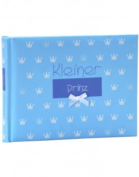 Blue pocket album Kleiner Prinz little prince