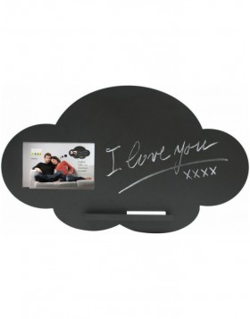 Chalkboard cloud for a photo 10x15 cm