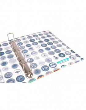 Ring binder for Bottle Cap Collection