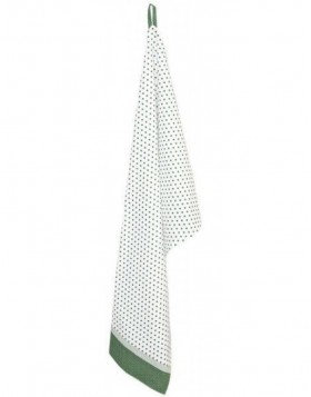 K�chentuch 50x85 cm Dotted gr�n