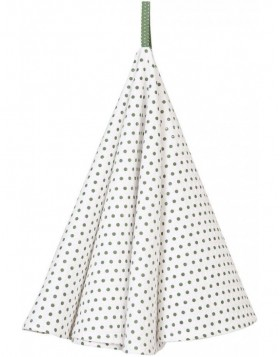K�chentuch � 80 cm Dotted gr�n