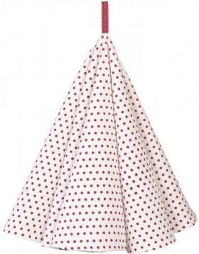 K�chentuch � 80 cm Dotted rot