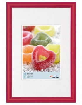 picture frame TRENDSTYLE 30x40 cm - brilliant red
