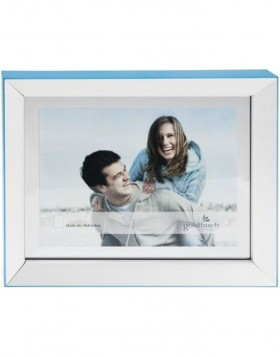 LIGHT portrait frame 10x15 cm blue