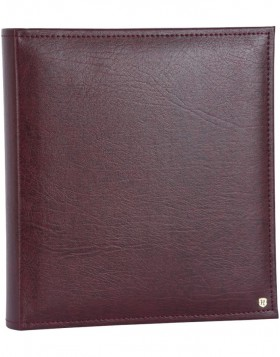 LONZO photo album burgundy 28x30,5 cm