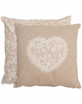 Lace with Love Kissen 40x40 cm