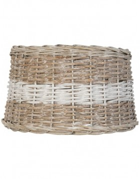 lamp shade 6LAK0276BW Clayre Eef - natural/bicoloured
