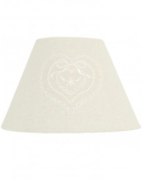 lamp shade 6LAK0310 Clayre Eef - natural