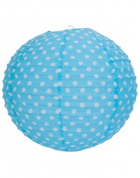 lamp shade 6LAK0328M Clayre Eef - light blue