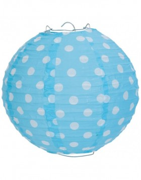 lamp shade 6LAK0328S Clayre Eef - light blue