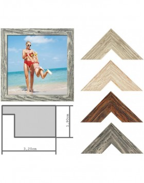 Landhaus 730 wooden frame special glasses and sizes up to...