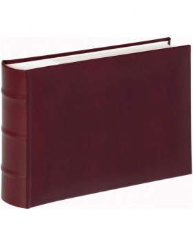 Leatherette slip-in album Classic burgundy 6x8