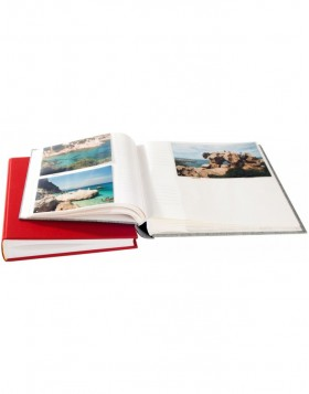 slip-in album Linum 200 or 300 photos 10x15 cm linen cover