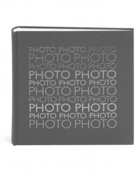 linen photo album PHOTO grey