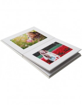 Leporello Lona 12 photos 10x15 cm white