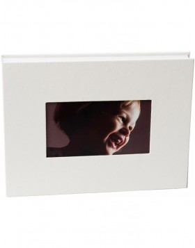 Leporello Lona 12 photos 13x18 cm white