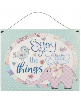 Little Things Blechschild bunt - 6Y1434 Clayre Eef