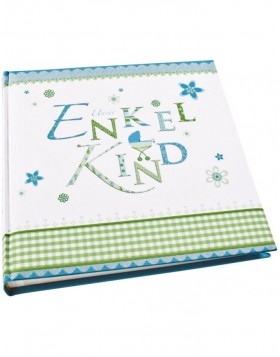 Lovely grand child photo album blue