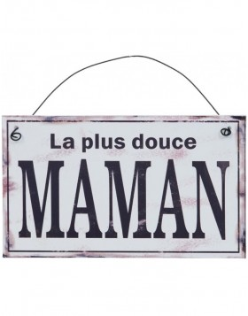 MAMAN tin-plate white - 6Y1329F Clayre Eef