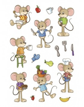MAGIC Funny mice, transpare
