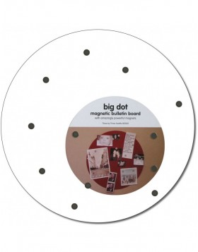 White magnetic board Big Dot