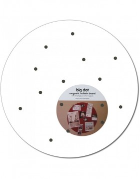 White round magnetic board Big Dot