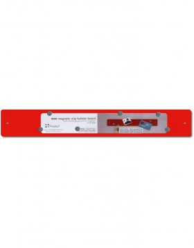 14x2 red mini Magnetic Strip