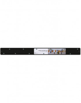 Magnetic bar Strips black 28x2.4
