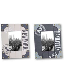 Manhattan wood picture frame 10x15 cm and 13x18 cm