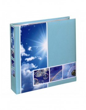Memoalbum LIVING EARTH blue 200 photos 10x15 cm