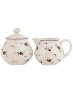creamer and sugar bowl FRANCINE