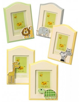 Mini picture frame Wild Animals 6x8 cm