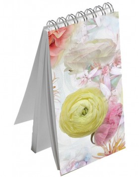 Mini Notepad Ranunculus
