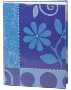 Mini Album Flower Festival 36 photos 10x15 cm blue