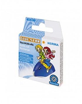 HERMA GLUE-STAR refill roll removable 13m