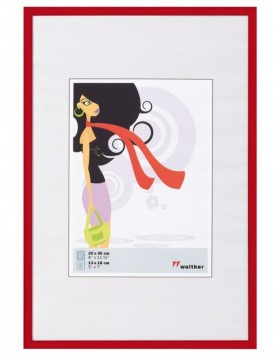 plastic frame 20x25 cm red New Lifestyle