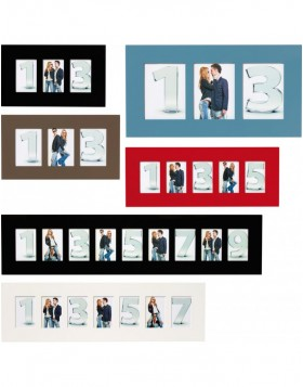 New Line glossy frame 3 to 9 photos 10x15 cm, 13x18 cm...