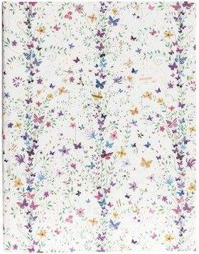Notizbuch A4 Flowers lila
