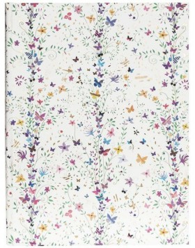 Notizbuch A5 Flowers lila