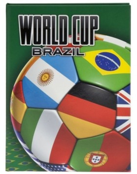 Notizbuch A5 World Cup Brazil