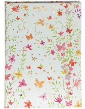 Notizbuch A6 Flowers red