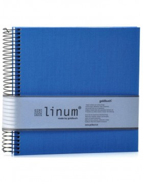 Note pad Linum in blue