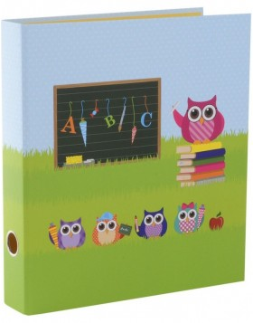 Folder A4 Guardian Owl 5cm green