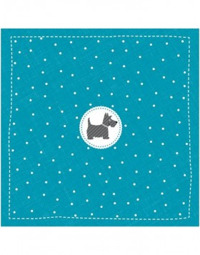 Papier-Servietten 33x33 cm Scotch Terrier Mini