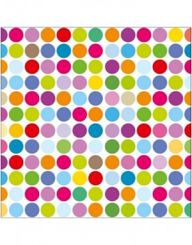 Papier-Servietten Superdots/multic.