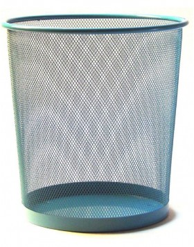 paper bin by officional sky blue