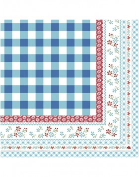 Papierservietten 33x33 cm 20 St�ck Touch of Holland