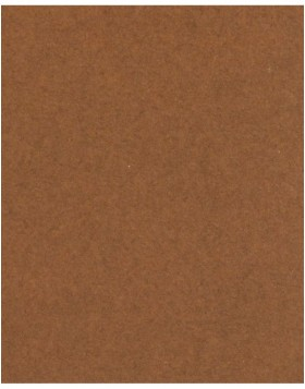 Bevel cut mat brown 40 sizes Tobacco