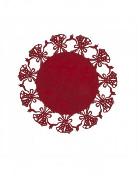 red place mat - FE040.002MR Clayre Eef